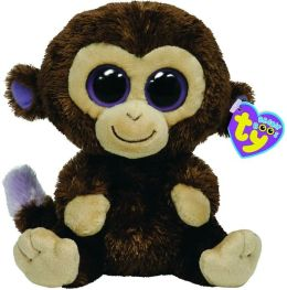 Ty Beanie Boos Plush - Coconut Monkey