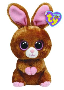 Hopsin Brown Bunny Beanie Boo 6 inch Plush