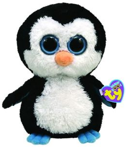 Ty Beanie Boos Plush - Waddles penguin 13in