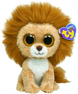 Ty Beanie Boos Plush - King lion 13in