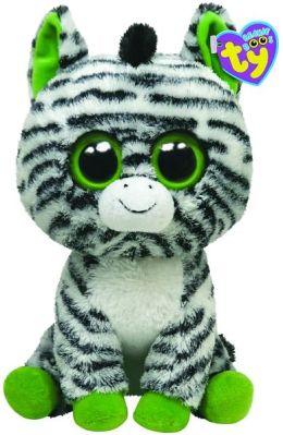 Ty Beanie Boos Plush - Zig-Zag zebra 13in
