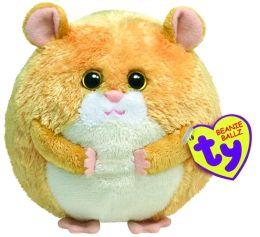 Ty Beanie Ballz Plush - Flash hamster