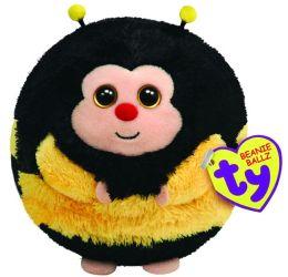 Ty Beanie Ballz Plush - Zips bee