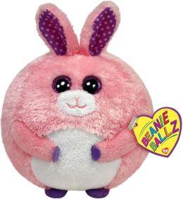 Carnation Pink Bunny Ballz Plush