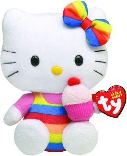 Hello Kitty Beanie Baby, Cupcake Beanie