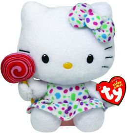 Hello Kitty Beanie Baby, Lollipop