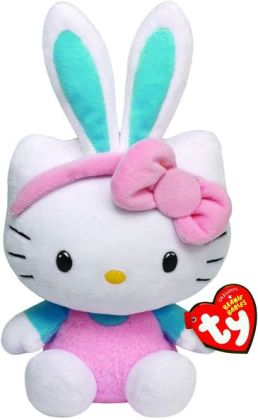 Hello Kitty Beanie Baby, Green Ears