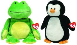 Waddles & Ponds Ty Pluffies 10 inch Plush - 2 pack
