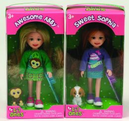 Awesome Abby & Sweet Sophia Ty Lil Ones 5 inch Dolls -2 pack