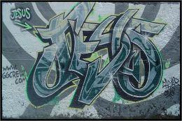Graffiti Jesus - Poster