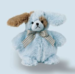 Ruff Plush Blue Dog