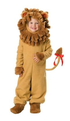 Lil' Lion Toddler Costume: Size Medium 4T