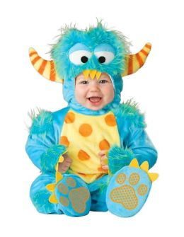 Lil Monster Infant/Toddler Costume: Size 6/12 Months
