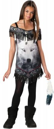Tribal Spirit Tween Costume: Small (8/10)