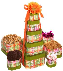 Alder Creek Springtime Tower of Treats