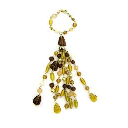 Amber Decorative Tassel/Napkin Ring
