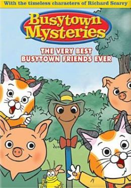 Hurray For Huckle: Very Best Busytown Friends Ever