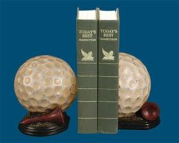 SI 91-4805 Pair Tee Time Bookends