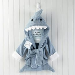 Let the Fin Begin - Terry Shark Baby Robe