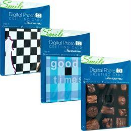 Digital Photo Greeting Cards By Pandigital Set Of 3