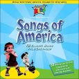 CD Cover Image. Title: Songs of America, Artist: Cedarmont Kids