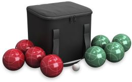 Bocce Ball 9 Piece Set with Easy Carry Nylon Bag