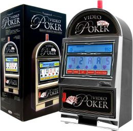 Video Poker Touch Screen - Bar Top Casino Style - 7 in 1