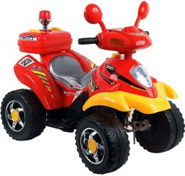 Lil' Rider Battery Operated 4 Wheeler - Red/Yellow