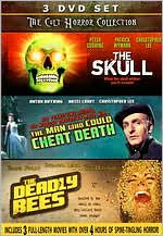 Cult Horror Collection: the Skull/the Deadly Bees/the Man Who Could Cheat Death