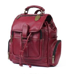 Claire Chase 334E-red Small Uptown Bak-Pak - Red