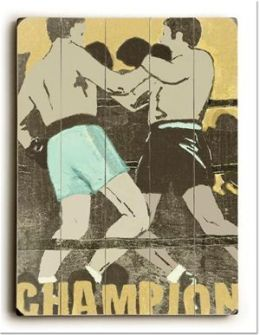ArteHouse 0003-2586-32 Champion Vintage Sign