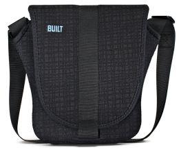 Built Neoprene Messenger Bag for iPad - Graphite Grid