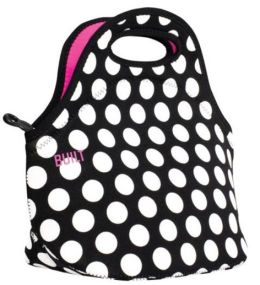 Gourmet Getaway Lunch Tote - Big Dot Black and White