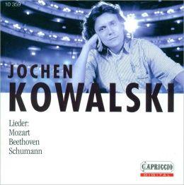 Lieder: Mozart; Beethoven; Schumann