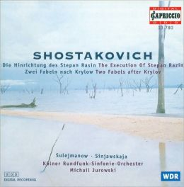 Shostakovich: The Execution of Stepan Razin; Two Fables after Krylov