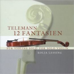 Telemann: 12 Fantasien for solo violin