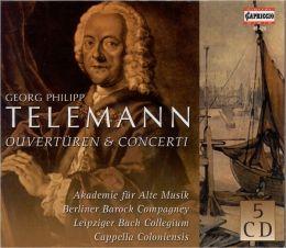 Overture & Concerti (Telemann / Leipziger Bach Collegium)