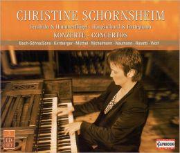 Christine Schornsheim plays Harpsichord & Fortepiano Concertos