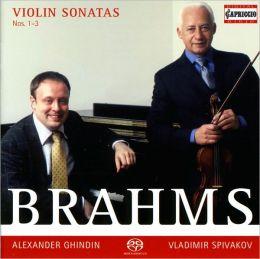 Brahms: Violin Sonatas, Nos. 1-3