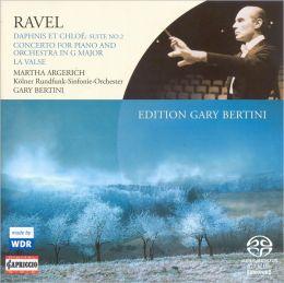 Daphnis Et Chloe Suite 2 / Piano Concerto / Valse (Ravel / Cologne Radio Sym / Argerich / Bertini)