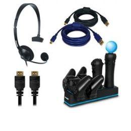 Dreamgear DGPS3-3832 5-in-1 Essentials Kit - PlayStation 3, Wired Head