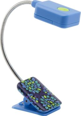 Vera Bradley Indigo Pop LED Clip-On Booklight