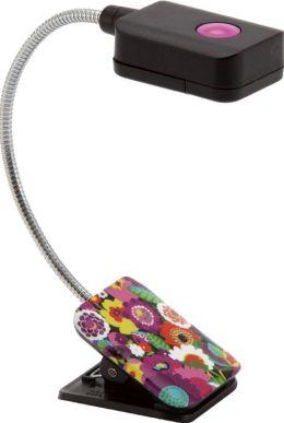 Vera Bradley VaVa Bloom LED Clip-On Booklight