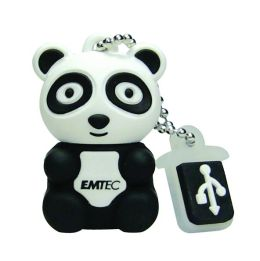 EMTEC M310 Animal Series Zoo 4 GB USB 2.0 Flash Drive (Panda)