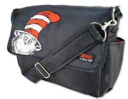 Trend Lab 30096 Diaper Bag- Dr. Seuss Cat In The Hat Messenger