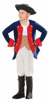 Patriot Soldier Boy Child Costume: Medium
