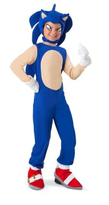 Sonic the Hedgehog - Sonic Child Costume: Large