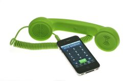 Native Union POP Phone Retro Handset for iPhone/Blackberry and Smartphones - Green