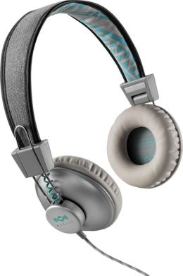 House of Marley EM-JH010-SM Positive Vibration On-Ear Headphones - Mist