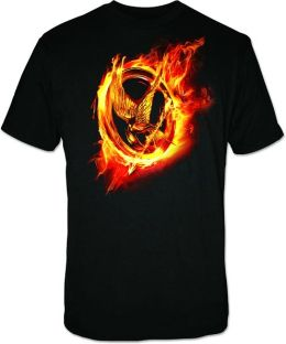 Hunger Games Movie Mens T-shirt Large